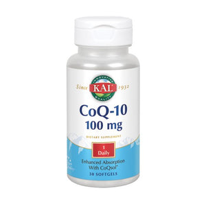 CoQ10 30 Softgels by Kal