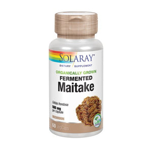 Fermented Maitake 60 Veg Caps by Solaray (2590307844181)