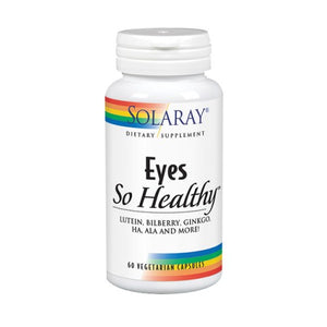 Eyes So Healthy 60 Veg Caps by Solaray (2590307942485)