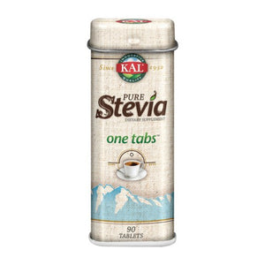 Pure Stevia Unflavored 90 Tabs by Kal (2590308040789)
