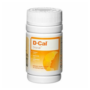 Supp D-Cal Soy Cal 30 Tabs by D-Cal (2587776122965)
