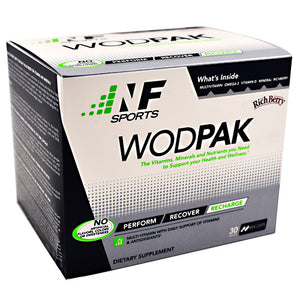 Wodpak Multivitamin 30 Count by NF Sports