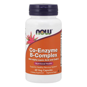 Co-Enzyme B-Complex 60 Veg Caps by Now Foods (2590308827221)