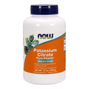Potassium Citrate Pure Powder 12 Oz by Now Foods