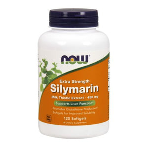 Silymarin Milk Thistle Extract 120 Softgels by Now Foods