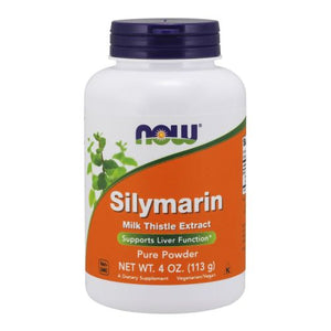 Silymarin Milk Thistle Extract Pure Powder 4 Oz by Now Foods