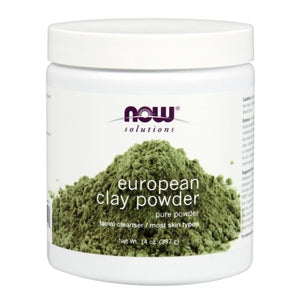 Europian Clay Powder 14 Oz by Now Foods (2590311219285)