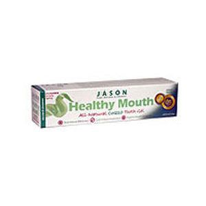 Healthy Mouth Anti-Cavity & Tartar Control Gel Tea Tree Oil & Cinnamon, 6 Oz by Jason Natural Products (2584050204757)