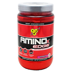Amino X Edge Strawberry Orange 28 Servings by BSN Inc. (2587783954517)