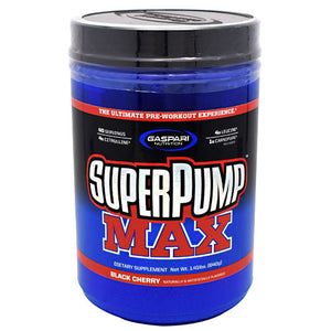 SUPERPUMP MAX Watermelon 40 Servings by Gaspari Nutrition (2587785396309)