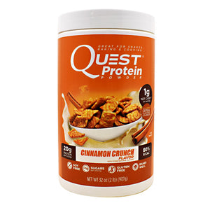 Quest Nutrition Protein Powder Cinnamon Crunch 32 Oz by QUESTBAR (2587794178133)