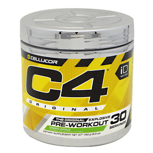 C4 Pre-Workout Explosive Energy Strawberry Margarita 30 Servings by Cellucor (2587794276437)