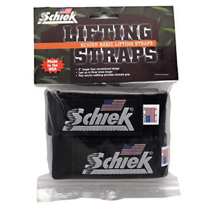 Basic Lifting Straps 1 Count by Schiek (2587796799573)