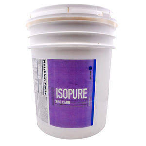 IsoPure Zero Carb Vanilla 20 lbs by Nature's Best (2587799093333)