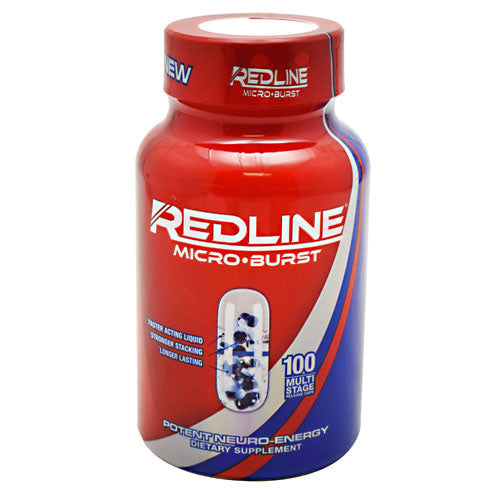 Redline Microburst 100 Cap by VPX Sports Nutrition