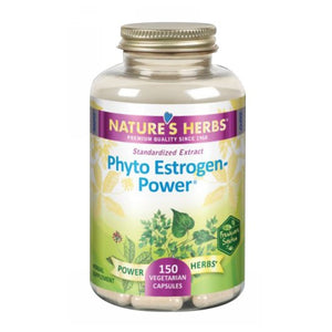 Phyto Estrogen-Power 150 Veg Caps by Nature's Herbs(Zand)