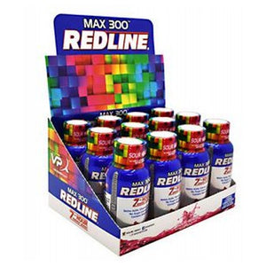 Redline Max 300 Sour Heads 24 X 2.5 Oz by VPX Sports Nutrition (2587806793813)