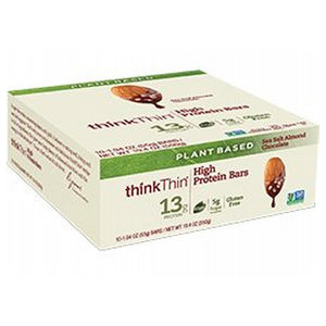 High Protein Plant Based Bar Mint Chocolate 10 Pack by Think Thin (2587809284181)