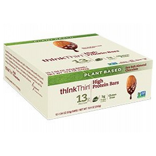High Protein Plant Based Bar Mint Chocolate 10 Pack by Think Thin
