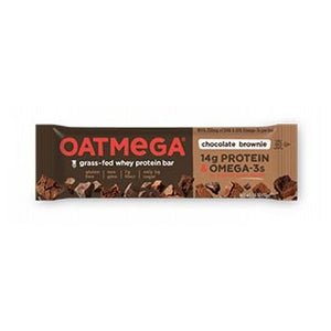 Grass Fed Whey Protein Bar Brownie Chip 12 Pack by Oatmega (2587809611861)