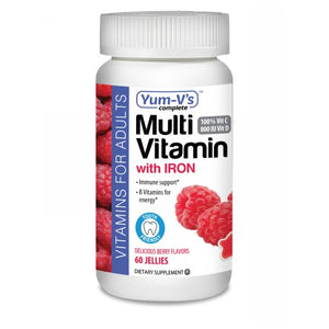 Multivitamin with Iron for Adults 60 Count by Dulce Probiotics