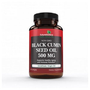 Black Cumin Seed Oil 60 Softgels by Futurebiotics (2587827339349)