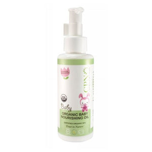 Organic Baby Nourishing Oil 4 Oz by Calofornia Pure Naturals