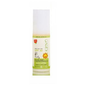 Natural Baby Sunscreen with Zinc Spf30 1.6 Oz by Calofornia Pure Naturals