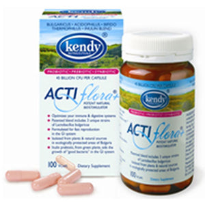 Actiflora Plus Prebiotic Probiotic 100 CAP by Kendy USA (2584227020885)