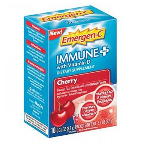 Emergen-C Immune Cherry 10 Count by Alacer