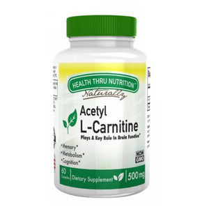 Acetyl L-Carnitine 60 Veg Caps by Health Thru Nutrition (2587835269205)