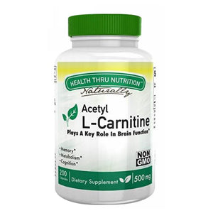 Acetyl L-Carnitine 200 Veg Caps by Health Thru Nutrition
