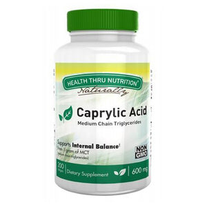 Caprylic Acid 200 Softgel by Health Thru Nutrition