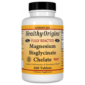 Magnesium Bisglycinate 120 Tabs by Healthy Origins