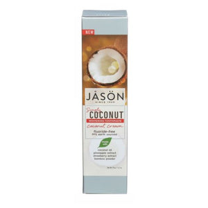 Simply Whitening Toothpaste Coconut Cream 4.2 Oz by Jason Natural Products (2590328979541)