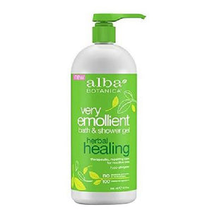 Bath & Shower Gel Herbal Healing 32 Oz by Alba Botanica