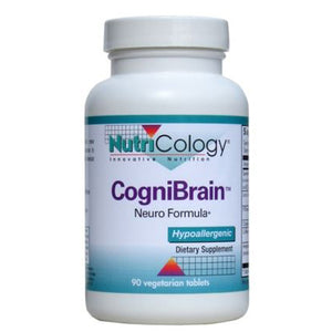 CogniBrain 30 Tabs by Nutricology/ Allergy Research Group (2590330454101)