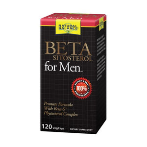 Beta Sitosterol for Men 120 Count by Natural Balance (Formerly known as Trimedica)  (2590331732053)