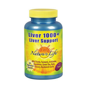 Liver 1000+ 60 Veg Caps by Nature's Life