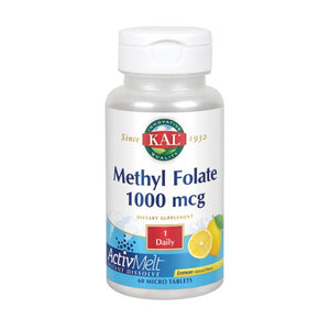 Methyl Folate 60 Count by Kal