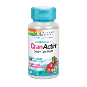 CranActin Cranberry Extract 30 Veg Caps by Solaray (2590334058581)