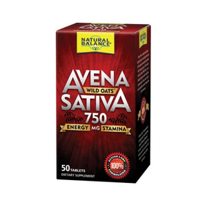 Avena Sativa Wild Oats 50 Tablets by Natural Balance (Formerly known as Trimedica)