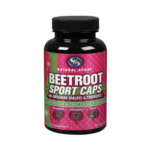 Beet Root 90 Veg Caps by Natural Sport (2590336745557)