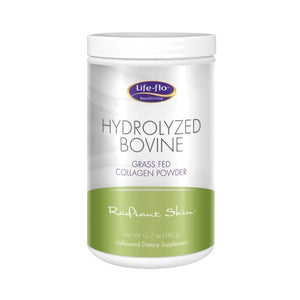 Hydrolyzed Bovine Collagen Powder Unflavored 12.7 Oz by Life-Flo