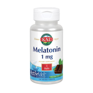 Melatonin Activmelt 120 Count by Kal (2590340448341)