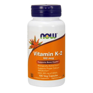 Vitamin K-2 120 Veg Caps by Now Foods (2590340907093)