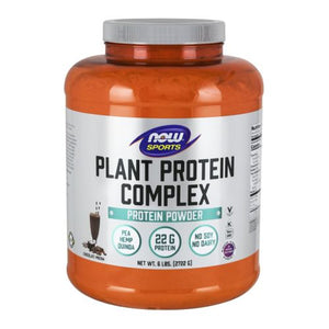 Plant Protein Complex Chocolate Mocha Flavor 6 lbs by Now Foods