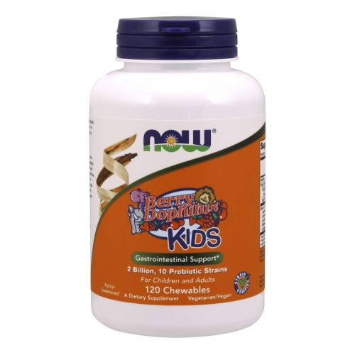 Berrydophilus Kids 120 Chewables by Now Foods