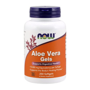 Aloe Vera Gels 250 Soft Gels by Now Foods (2587848671317)