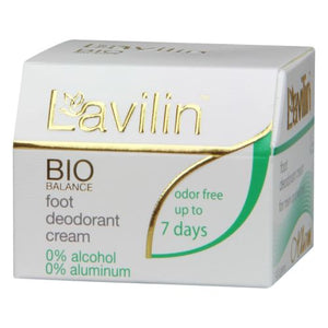 Lavilin Foot Deodorant Large 12.5 grams by Now Foods